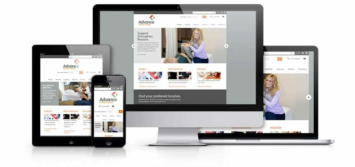Advance Physical Therapy Website