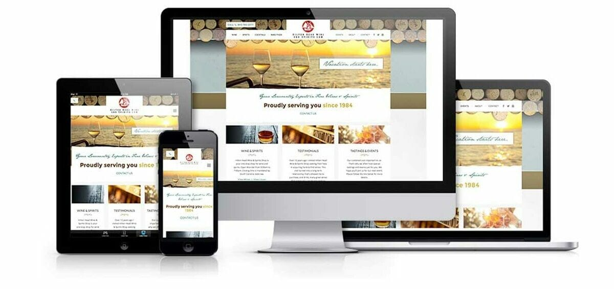 Hilton Head Wine & Spirits Website